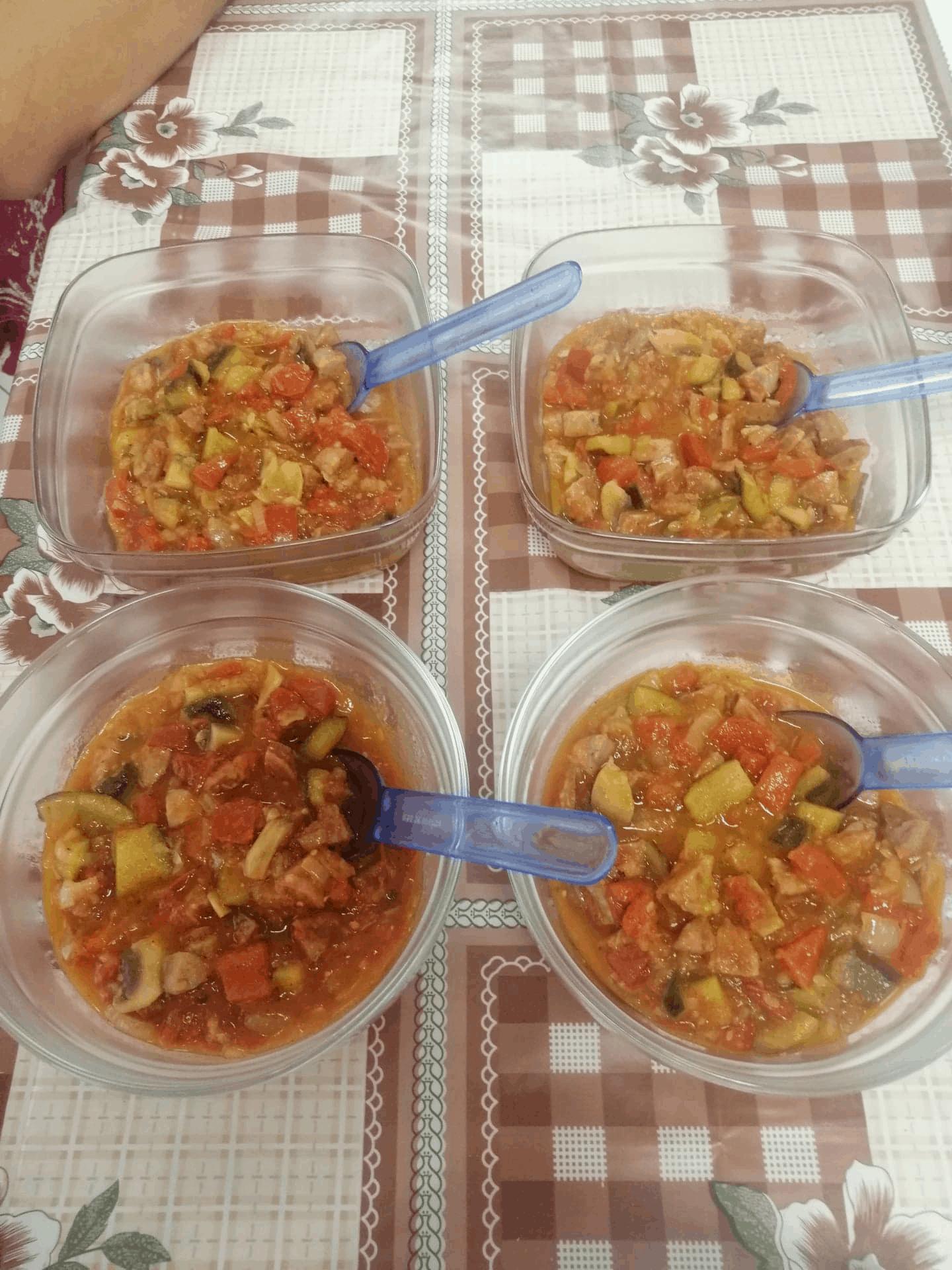 zajęcia kulinarne – leczo 2020