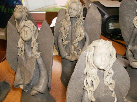 Rzeźby z gliny