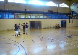 Notka o spotkaniach BOCCIA na Hali Sportowej w Rędzinach