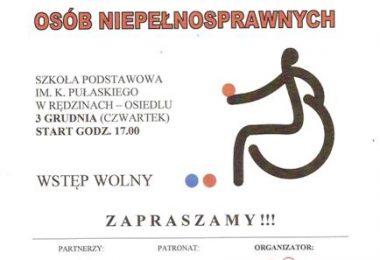 """Zapraszamy na """"Spotkanie z Boccią"""" 3.12.2015 r."""