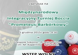 Turniej Boccia w Hutkach 2015