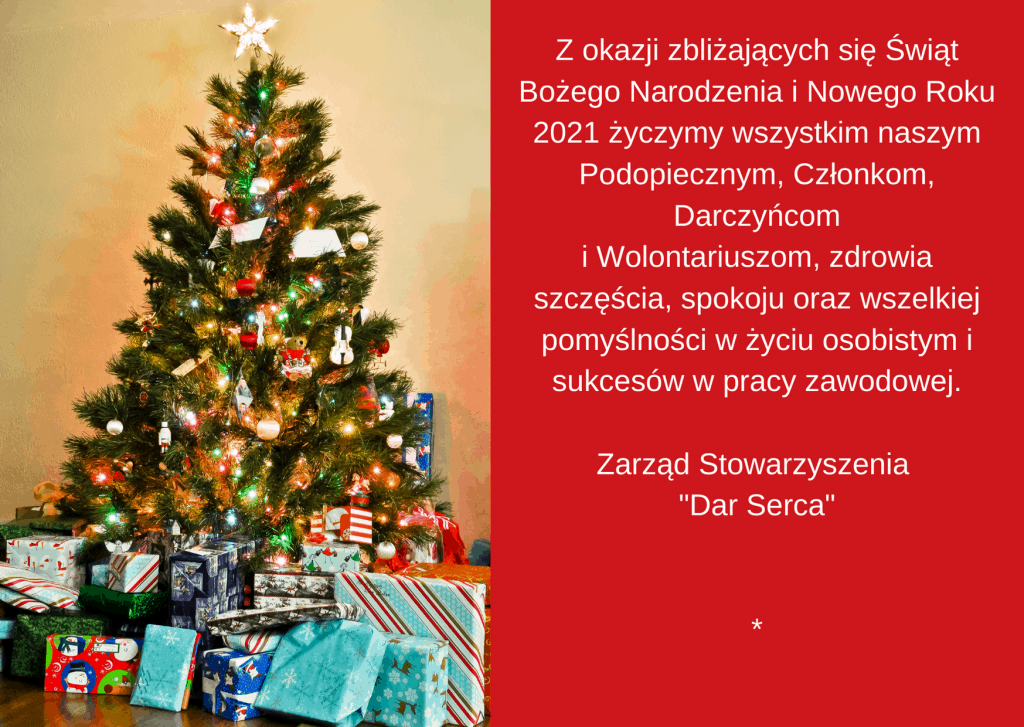 Życzenia świąteczne 2020